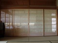 ヒノキの葦戸(よしど)