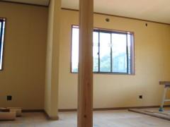 施工前の角柱