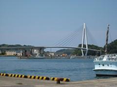 港から見るマリン大橋